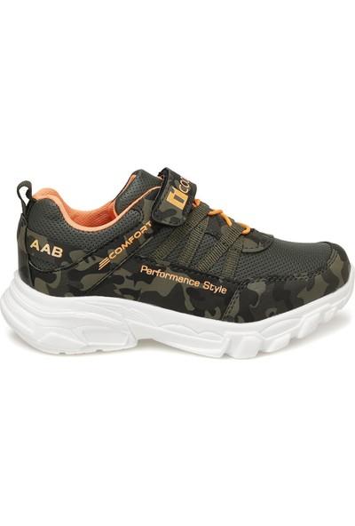 I Cool Flash Haki Erkek Çocuk Yürüyüş Ayakkabısı