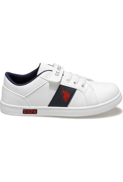 U.S. Polo Assn. Callo Wt Beyaz Erkek Çocuk Sneaker