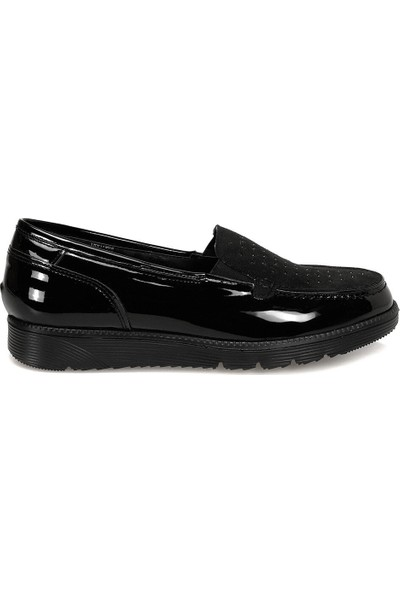 Travel Soft Trv1700S Siyah Kadın Loafer Ayakkabı