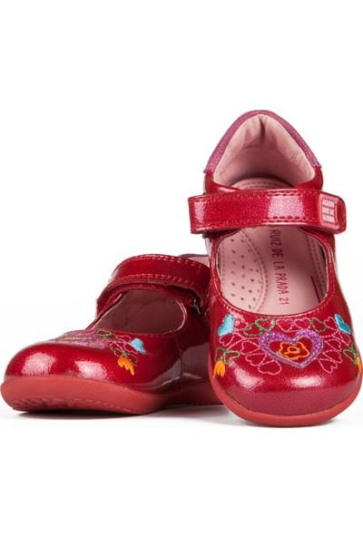 Garvalin 141904 Kırmızı Kız Çocuk Casual Ayakkabı