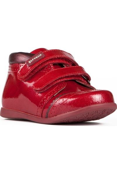 Garvalin 141311 Kırmızı Kız Çocuk Casual Ayakkabı