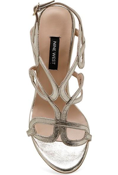 Nine West Tona Altın Kadın Topuklu Sandalet