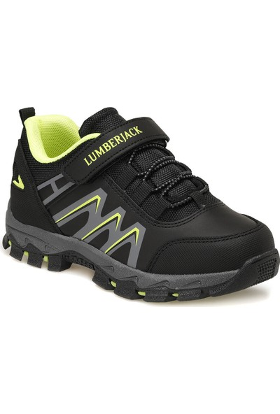 Lumberjack Under Siyah Erkek Çocuk Yürüyüş Ayakkabısı