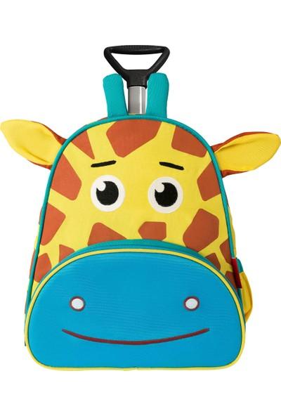 Zoozy Zürafa Çekçekli Sırt Çantası