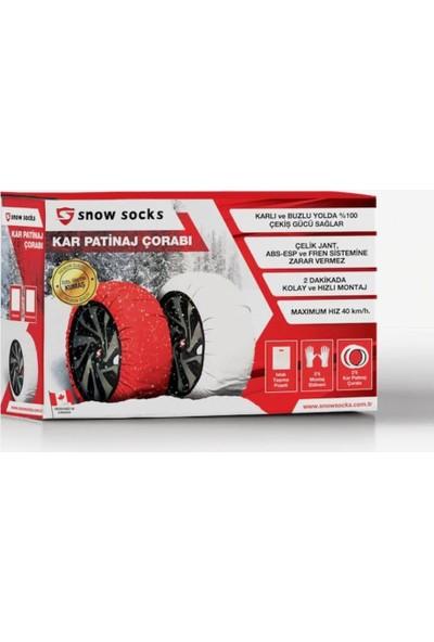 Snow Socks 265 50 R19 Kar Çorabı XXL