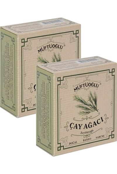 Müftüoğlu Zeytinyağlı Çay Ağacı Banyo Sabunu 170 gr x 2 Adet