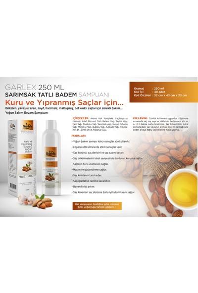 Garlex Sarımsak Tatlı Badem Yağı Şampuanı 250 ml