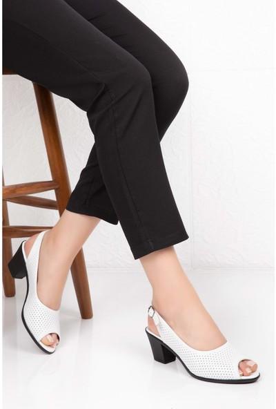 Gondol Deri Topuklu Ayakkabı Vdt.211