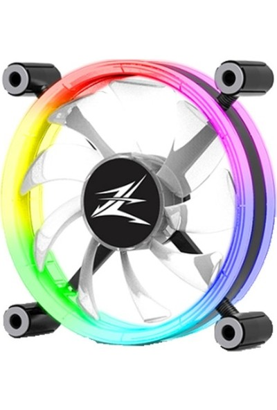 Zalman ZM-LF120 Premium Çift Taraflı Halka Adreslenebilir 120 mm LED Fan