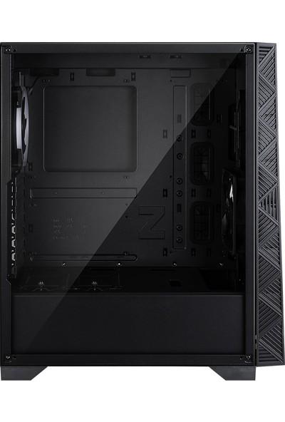 Zalman Z3 Neo ATX Mid Tower 1 x Mik., 1 x Kul., 2 x USB 3.0, 1 x USB 2.0, LED Kontrol, 2 x 120 mm RGB Fan, Cam Yan Kapak, PCI/AGP 340 mm Bilgisayar Kasa