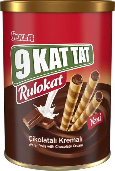 Ülker 9 Kat Tat Rulokat Çikolatalı 170 gr