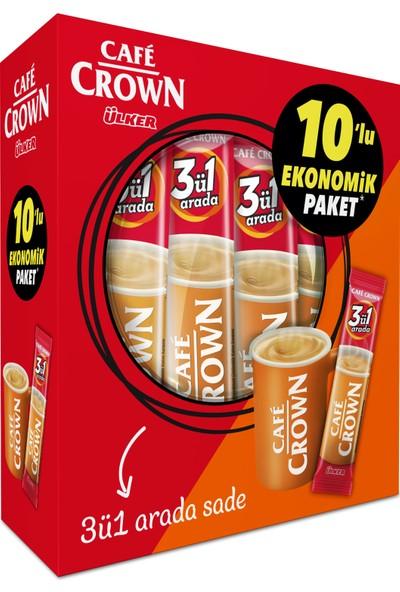 Cafe Crown 3ü1 Sade 10x17,5 gr