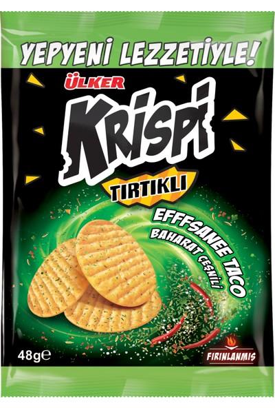 Ülker Krispi Tırtıklı Baharatlı Kraker 48 gr