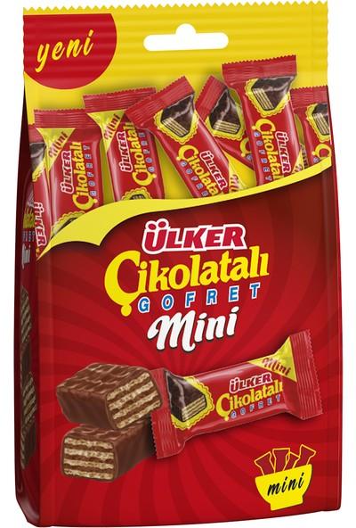 Ülker Çikolatalı Gofret Mini 82 gr
