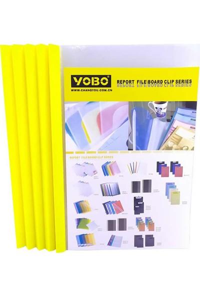 Yobo B1054 A4 100 Yaprak Için Sarı Dosya Kapağı