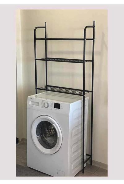 Weblonya Banyo Rafı Çamaşır Makinesi Rafı Çok Amaçlı Raf 3071