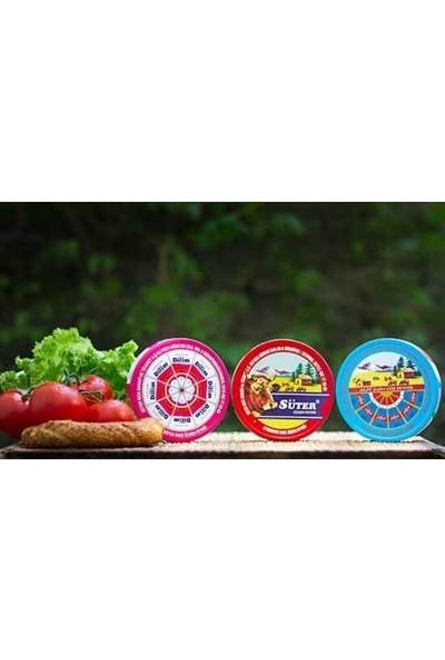 Süter Peynir 80 Porsiyon 1 Kutu 1200 gr Ambalajlı Üçgen Peynir