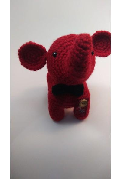 Kozalak Tasarım Kırmızı Fil