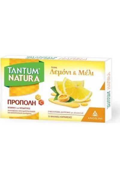 Tantum Tantunatura Propolis Limon ve Bal Aromalı 15 Pastil