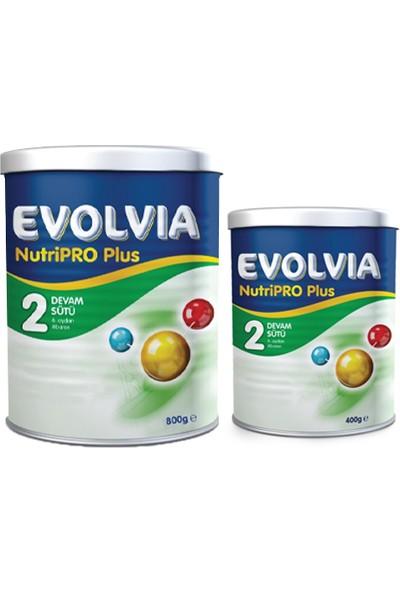 Evolvia 2 Devam Sütü Nutripro Plus 800 gr + 400 gr