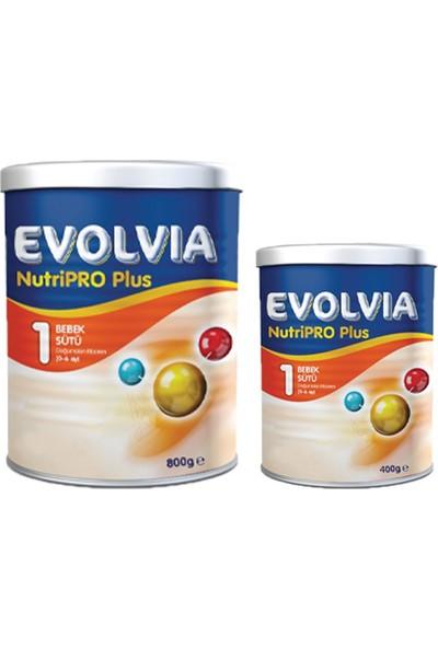 Evolvia 1 Bebek Sütü Nutripro Plus 800 gr + 400 gr