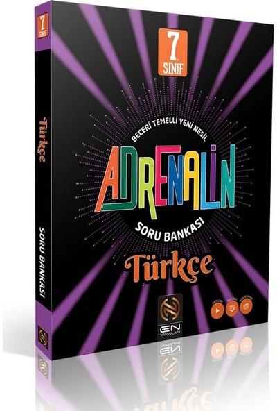 En Yayınları 7. Sınıf Adrenalin Türkçe Soru Bankası