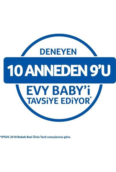 Evy Baby Bebek Bezi 3 Numara Midi Ultra Fırsat Paketi 180'li ve Duru Granül Sabun 400 gr