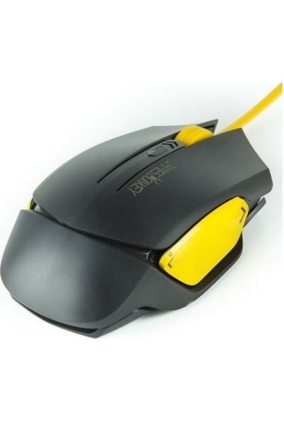 James Donkey 112I 3200DPI 6 Tuş Aydınlatmalı Siyah Optik Gaming Mouse