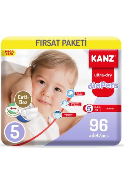 Kanz Bebek Bezi 5 Numara Fırsat Paketi 2 x 48'li