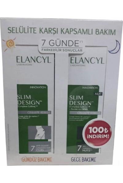 Elancyl Slim Design Gece & Gündüz Kofre Paketi - Bacak, Basen, Kalça