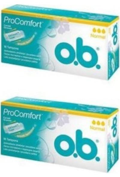 O.B. Procomfort Normal Tampon 16'lı x 2