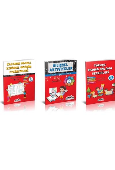 Hakim Yayınları 3. Sınıf Zihinsel Gelişim Seti - 5 Kitap