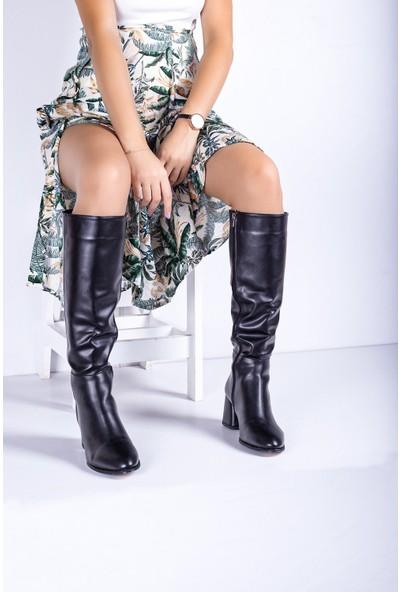 Eşle 20K Calli Kadın Günlük Çizme Siyah