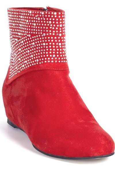 Eşle 20K Jash Günlük Kadın Bot Kırmızı