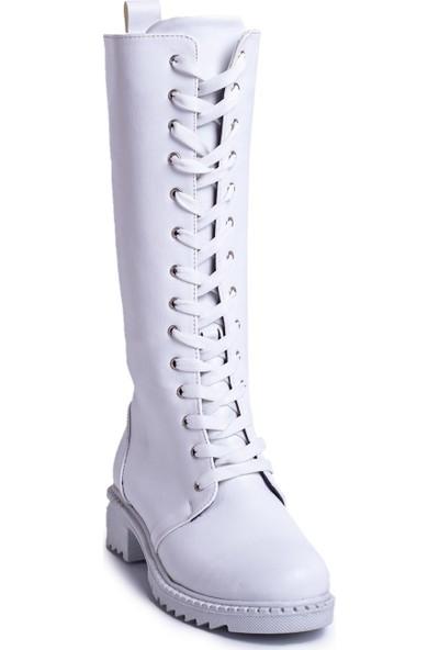 Eşle 20K Victoria Kadın Günlük Çizme Beyaz