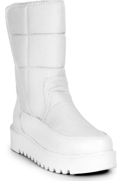 Eşle 20K Winter Kadın Kar Botu Beyaz