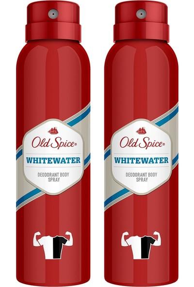 Old Spıce Sprey Deodorant 150 ml Whitewater x 2 Adet