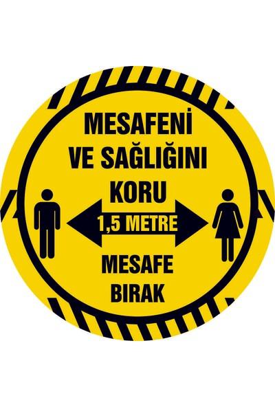 Orafol Sosyal Mesafe Yer Sticker