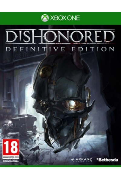 Dishonored Definitive Edition Xbox One Oyun