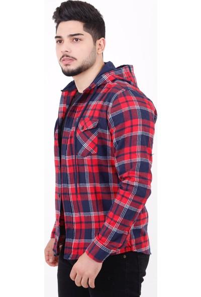 Stil Kombin Mastiff Kapşonlu Oduncu Kışlık Gömlek