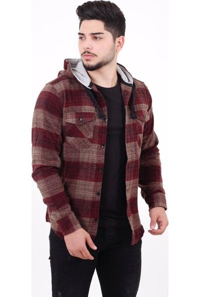 Stil Kombin Quick Winter Kapşonlu Oduncu Kışlık Gömlek