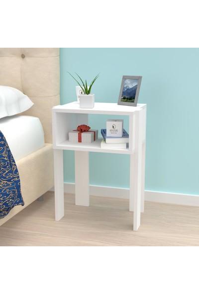 Kenzlife Komodin Orabella Byz Komidin 060*040*30 4 Ayaklı Şifonyer Kitaplık Yatak Odası Genç Odası