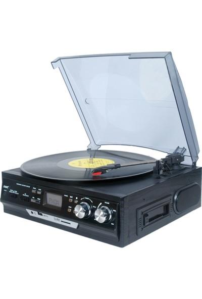 Sezy Kn-Star Nostaljik Pikap Radyo Kaset USB Sd Bluetooth - Siyah