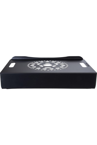 Voll Blume Notebook Soğutucu Laptop Standı - Siyah