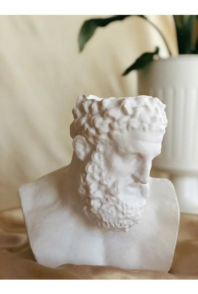 Cefl Boyanabilir Ham Obje - Zeus Saksı