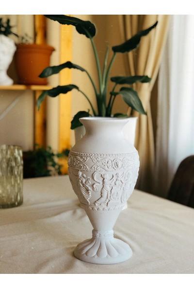 Cefl Boyanabilir Ham Obje - Antik Vazo