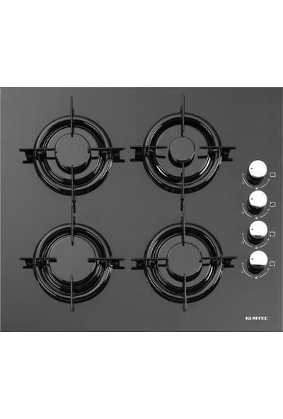 Kumtel mt Siyah Cam Ankastre Set ( Fırın B66 - Ocak KO40TAHDF - Ocak 830 )