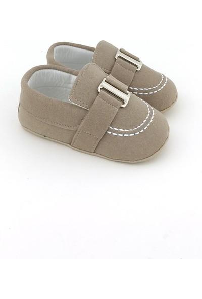 Funny Baby Saraçlı Tokalı Erkek Bebek Ayakkabı