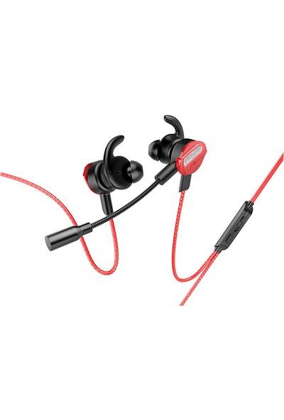 Rampage RM-K35 Loyal Kulak Içi Mikrofonlu Kulaklık Kırmızı