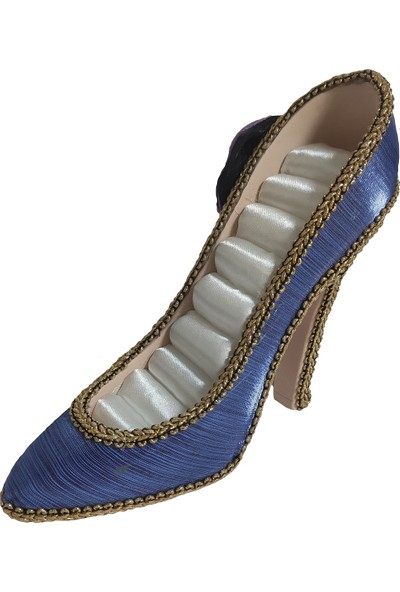 Hediye Buldun Topuklu Ayakkabı Şeklinde Yüzüklük
